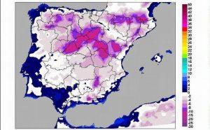 Mapa temperturas minimas